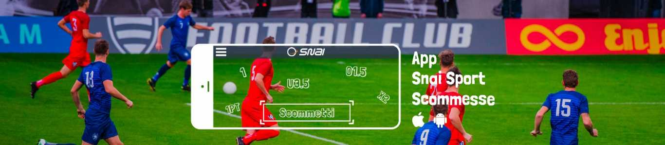Snai sports app